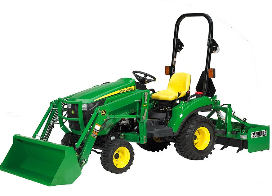 Cargador para tractor compacto