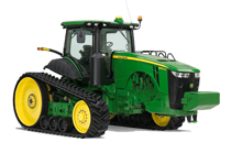 Tractor 8345RT - 345 hp